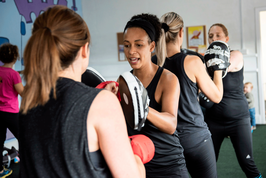 Boxfit for mums in Halifax and Yorkshire