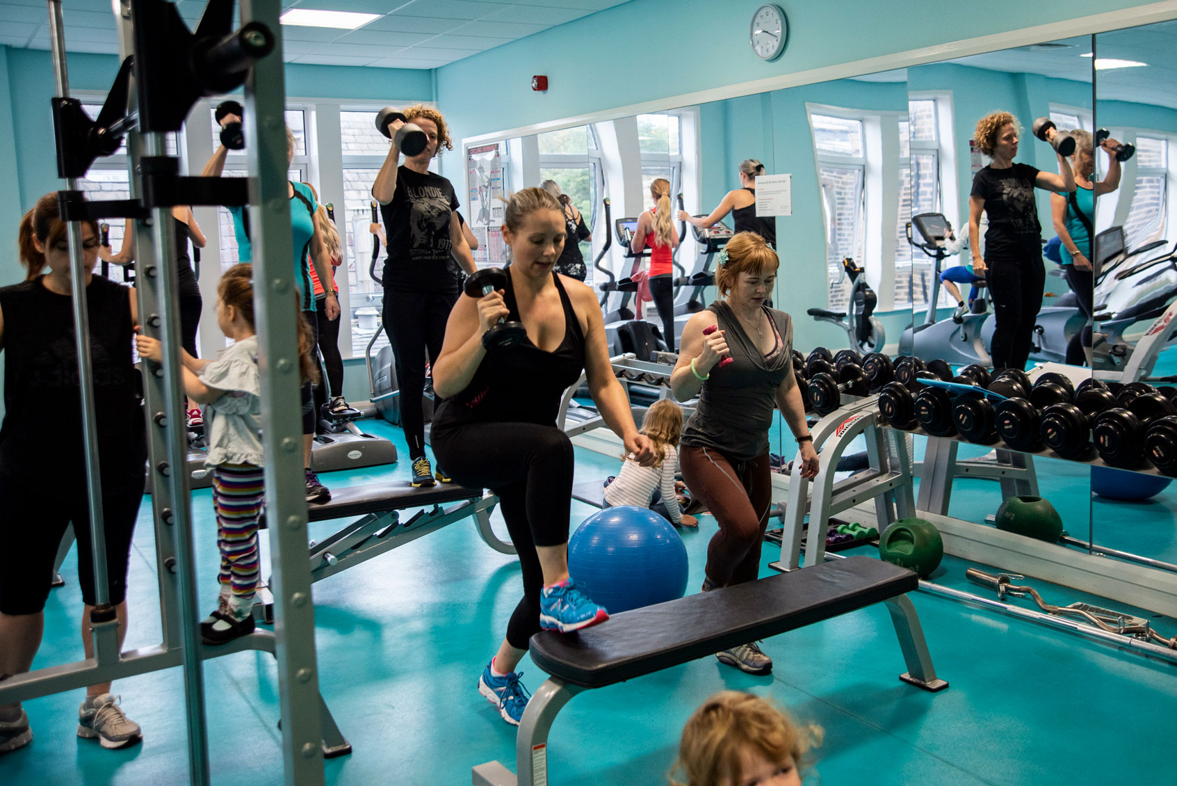 Strength and conditioning for mums