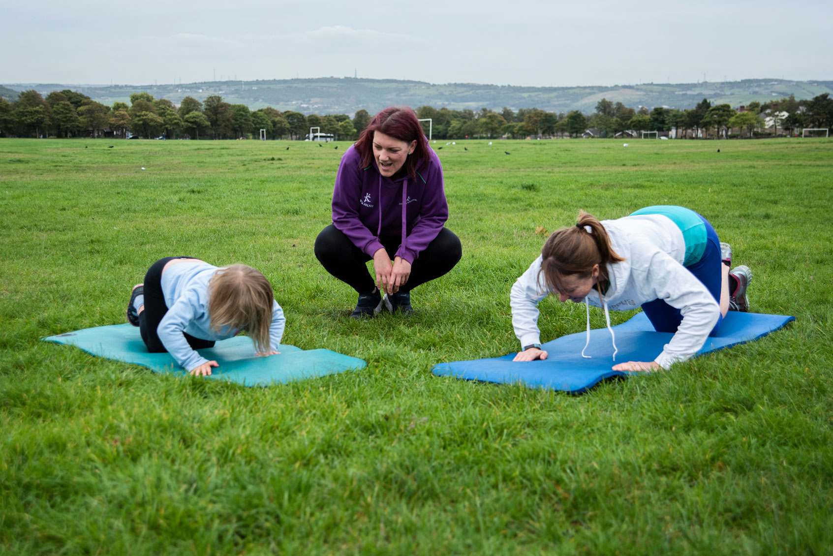Family Fitness with Sharon Porter