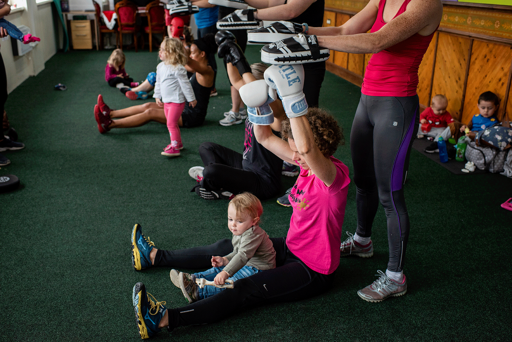 BOXFIT FOR MUMS IN HALIFAX